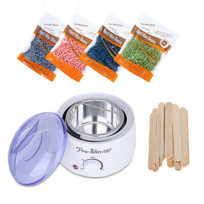 NEW Salon Spa Hair Removal Hot Paraffin Wax Warmer Heater Pot Machine Kit