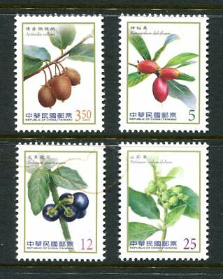 China Taiwan 2012 fRUIS AND bERRIES mnh