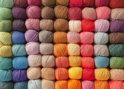 12x 100% Super Soft Crochet Cotton Ball 50g 3Ply Wool Yarn 24 Colours Available