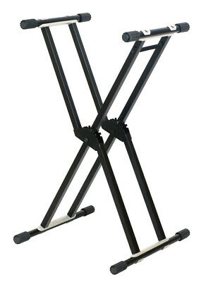 Artist KS023 Heavy Duty Double Braced Keyboard Stand - New