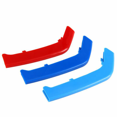 3 Series For BMW F30  M-Colored Grille Grill Insert Cover Trims 3PCS 13-15 JJJ