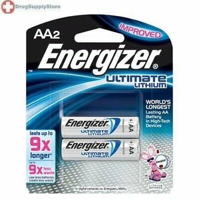 Energizer AA Lithium Batteries 2 Pack