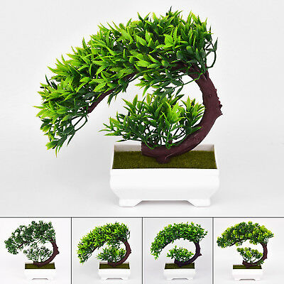 bonsai baum im topf kunstpflanze dekopflanze kunstbaum k nstlicher baum neu eur 6 99 picclick de. Black Bedroom Furniture Sets. Home Design Ideas
