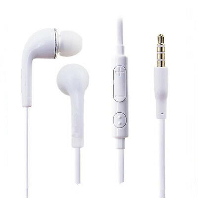 Ecouteurs intra-auriculaires filaires port microphone 3.5mm BLANC Smartphones,PC