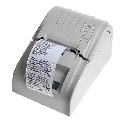 ZJ-5890T 58mm High Speed Thermal Receipt Printer Compatible With ESC / POS Set