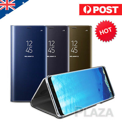 New Slim Cover Luxury Mirror Flip Case for Samsung Galaxy S8 S9+ Plus Note 8 S7