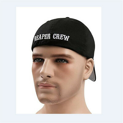 CAPPELLO LO SOA Sons of Anarchy Reaper Crew Fitted Baseball Cap Hat Adult