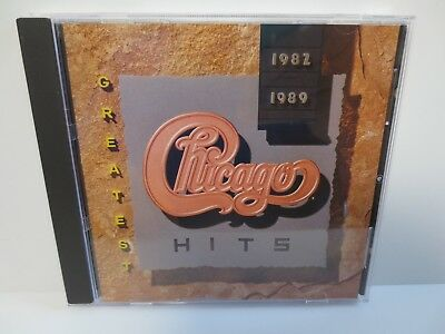 Chicago ~ Greatest Hits ~ 1982 - 1989 ~ Reprise 1989 ~ Near Mint Cd