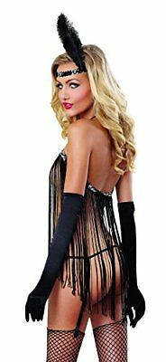 (TG. Taglia unica (36-42))  Dreamgirl costume Cabaret Dancer Dress Angelo / Stri