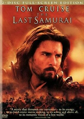 The Last Samurai (Dvd, 2004, 2-Disc Set, Full Screen Version) - Factory Sealed