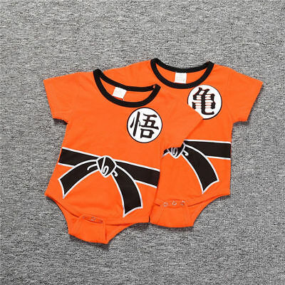 Dragon Ball Goku Baby Costume Newborn Infant Boy Clothes Romper Bodysuit Outfits & DRAGON BALL GOKU Baby Costume Newborn Infant Boy Clothes Romper ...