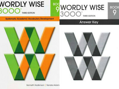 Wordly wise 3000 grade 4 set student and key new 3rd edition wordly wise 3000 grade 9 set studentanswer key 3rd edition fandeluxe Images
