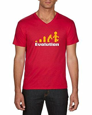 (TG. Xx-large (taglia Produttore: Xx-large)) Rosso (Red 08) Touchlines Evolution