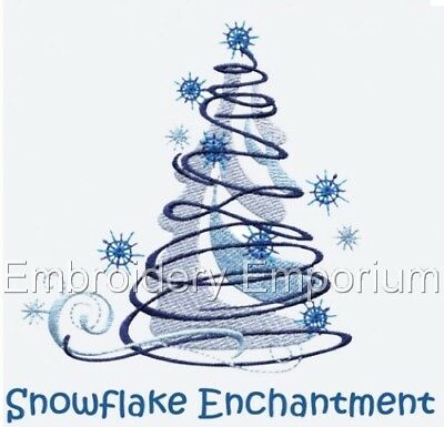 Snowflake Enchantment Collection - Machine Embroidery Designs On Cd