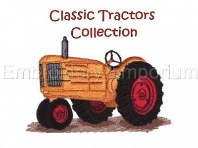 Classic Tractors Collection - Machine Embroidery Designs On Cd