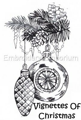 Vignettes Of Christmas - Machine Embroidery Designs On Cd