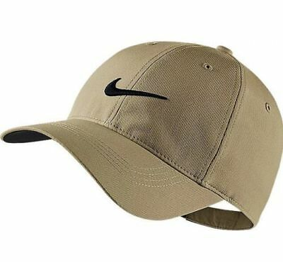 Nike Dri-Fit Legacy 91 Tech Adjustable Golf Hat Khaki / Black 727042-235