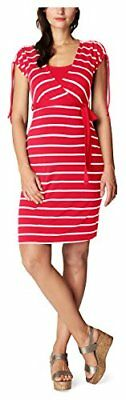 (TG. 42) Mehrfarbig (Coral C072) Noppies Dress Nurs Ss Lotta YD 70113, Abiti Pre