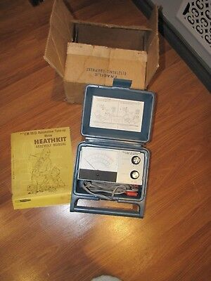 Vintage - Heathkit Model CM-1073 - Automotive Tune-Up Meter, with Box and Manual