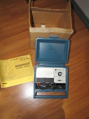 Vintage - Heathkit Model CM-1045 - Automotive Tune-Up Meter, with Box and Manual