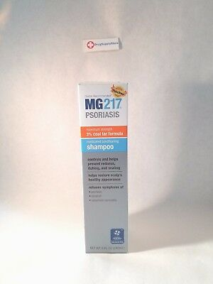 MG-217 Medicated Tar Shampoo Maximum Strength for Psoriasis 8 ounces
