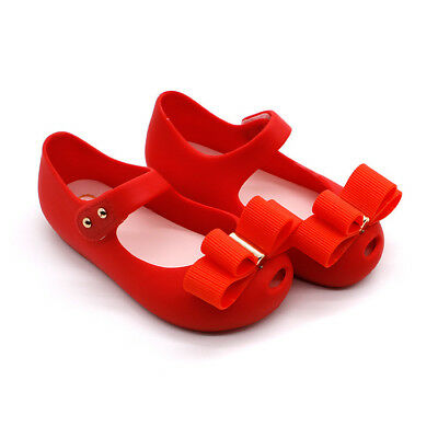 NEWEST Mini Melissa Two Bow Shoes Girl Sandals Kids Toddler Size US Size 6-11