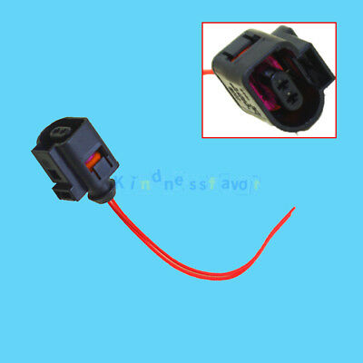 2 Pin Connector Plug Wiring Electrical Harness for VW Audi A3 A4 Skoda Seat Bora