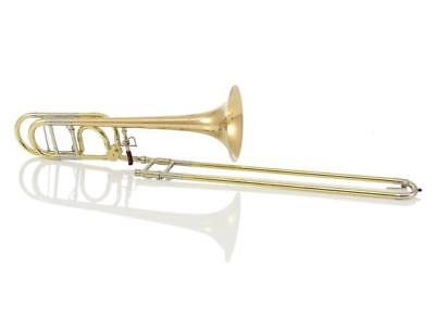 Brand New Greenhoe Gb4-1G Gold Brass Tenor Trombone