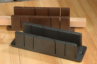 Linic Midi Mitre Block Box 45 & 90 Degree 54 x 54mm x 290mm UK Made W7081