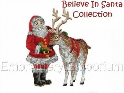 Believe In Santa Collection - Machine Embroidery Designs On Cd