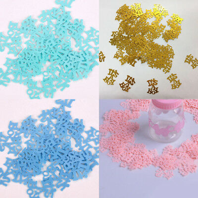 NEW Its A Girl/ A Boy Baby Shower Party Table Scatters Confetti Decoration