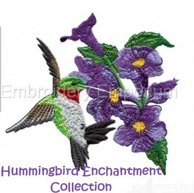 Hummingbird Enchantment Collection - Machine Embroidery Designs On Cd