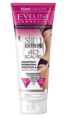 Eveline Slim Extreme 4D Scalpel Concentrate Body Balm Slimming Night Liposuction
