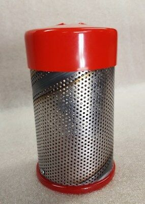 Shake and Blast Canister for sand blasting small parts in a blast cabinet