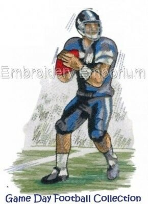 Game Day Football Collection - Machine Embroidery Designs On Cd