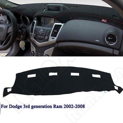 Dashmat For DODGE RAM 1500 2500 3500 2002-2008 Dashboard Mat Carpet Dash Cover