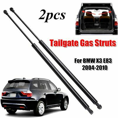 2x Rear Tailgate Trunk Boot Gas Hood Lift Struts Supports For BMW X3 E83 2004-10