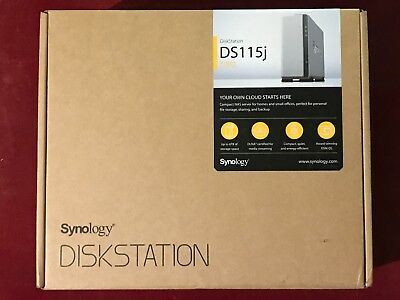 SYNOLOGY NAS DS-115J Disk Station - takes up to 6TB Drives, not included