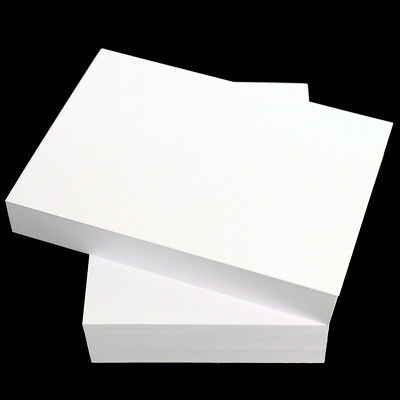 Papyrus A5 PREMIUM White CARD 300gsm Color Copy THICK Craft Stock SMOOTH