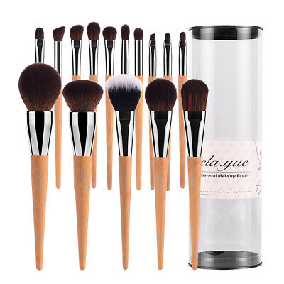 Professional Makeup Brushes Set Super Soft Cruelty-free Vegan Beauty Tools Kit