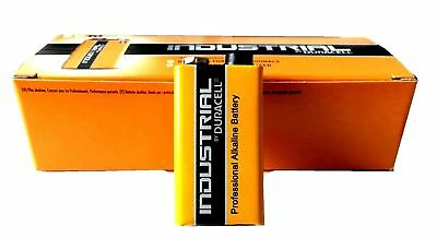 8 x Duracell Industrial 9V Alkaline battery LR22 BLOCK MN1604 6LR61 6LP3146