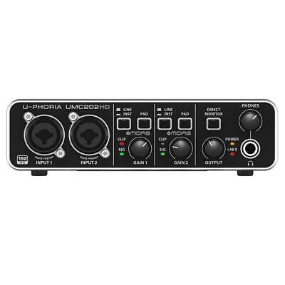 Behringer U-Phoria UMC202HD Audio Interface