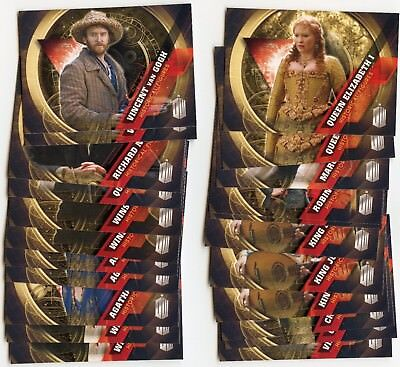 Lot of 22 2016 Topps BBC Doctor Who Timeless Historical Figures Inserts!!!