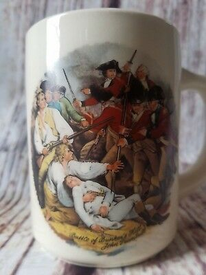Boy Scout Mug BSA Battle of Bunker Hill Trumbull Florida Scouting History Cup 1