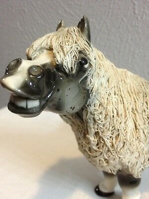 Vintage Porcelain Miniature Appaloosa Horse Absolutly Beautiful Cheval Handmade