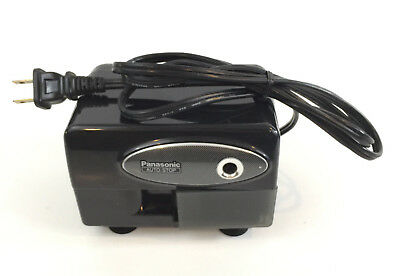 Panasonic KP-310 Auto-Stop Electric Black Pencil Sharpener Tested & Working