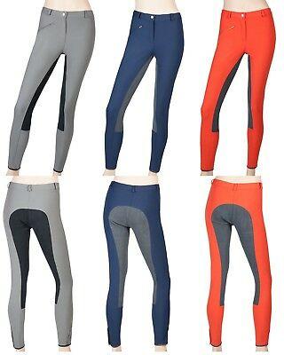 R42 Exclusive Ladies Riding Pants Full Seat Women's Trousers 3 Colours 36-44