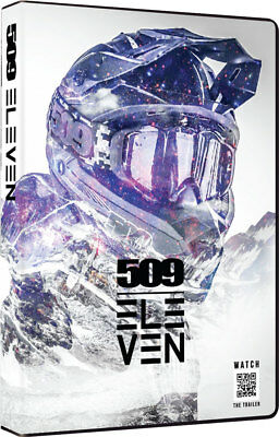 New 509 Films Volume 11 Snowmobile DVD Backcountry Mountain Stunts 509-DVD-V11