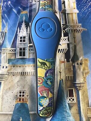 NEW Disney World 2018 PASSPORT Blue Magic Band 2 Magicband Link It Later