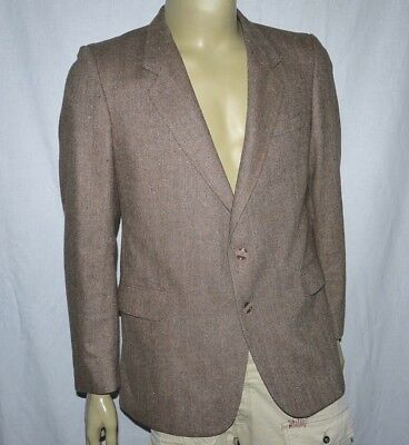 70s VINTAGE JOHN COLLIER SMART CASUAL COUNTRY STYLE WOOL BLEND JACKET BLAZER 42R